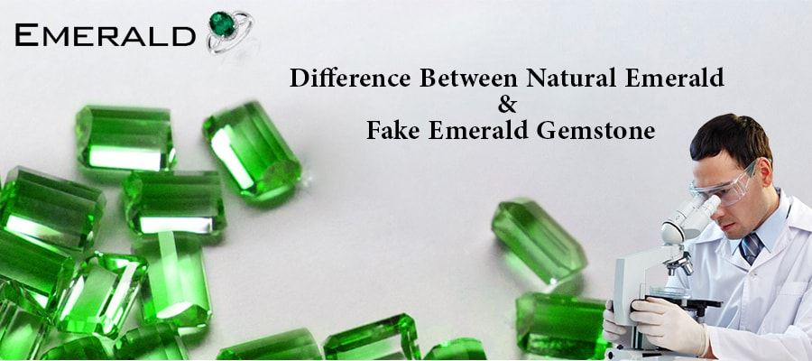 Difference Between Natural And Fake Emerald Gemstone