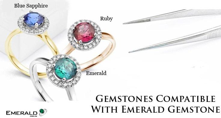 Gemstones Compatible With Emerald Gemstone